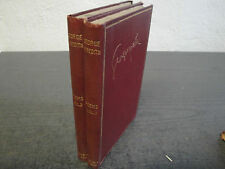 Poems by George Meredith Volume I + II 1904