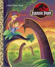 Jurassic Park Little Golden Book (Jurassic Park) by Arie Kaplan (Hardcover) NEW