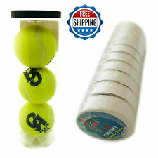 New Ca Plus 15K Tennis Soft Ball 3 Pc & As Sports Plastic Tape 10 Pc For Cricket