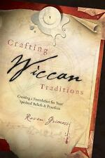 Crafting Wiccan Traditions Book ~ Wiccan Pagan Metaphysical Supply