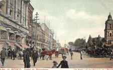 PORTAL DE MERCADERES MEXICO STREET VIEW POSTCARD (c. 1905)