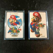 NINTENDO 64 Super Mario Trump Deck Card Set Complete JAPAN RARE