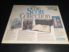 U.S. Scott United States National Supplement Pages #57- 1989- Quad Drilled