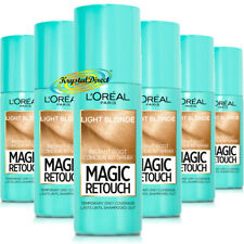 6x Loreal Magic Retouch LIGHT BLONDE Instant Root Concealer Spray 75ml
