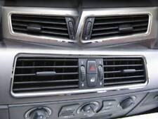 D BMW E60 / E61 5er  Chrom Rahmen für Lüftungsschacht - Edelstahl poliert