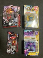 Transformers Bundle Set Dinobot Slug Shockwave Cannon Bumblebee DAMAGED PACKAGE