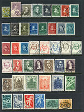 NETHERLANDS SEMI-POSTAL COLLECTION MINT & USED