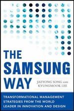 The Samsung Way Hardcover Book Business Transformational Management Strategies