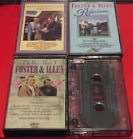 Foster and Allen Cassette Tapes Job Lot Bundle - Reflections, Memories, Greatest