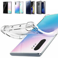 Samsung Galaxy Note 10 Plus / Note 10 Case Clear Soft TPU Shockproof Cover