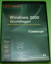 Windows 2000 Grundlagen (PC-Software) Lernprogramm