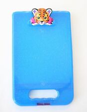 Lisa Frank Hunter rainbow tiger blue clipboad storage art case Be Creative! VTG