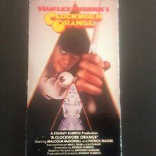 Underground Film Clockwork Orange Movie Vhs Stanley Kubricker