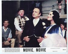 Movie, Movie-George C. Scott-Trish Van Devere-8x10-Color-Still-Comedy-NM