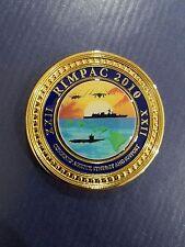 2010 XXII RIMPAC Joint Base Pearl Harbor/Hickam Hawaii  Challenge Coin