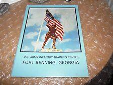 ORIGINAL U.S. ARMY TRAINING 3rd BATTALION 1ST INFANTRY YEARBOOK/FORT BENNING GA