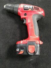 "12 Volt SKIL Drill Cordless# 2468- w/Battery 3/8"" Keyless Chuck Variable Speed"