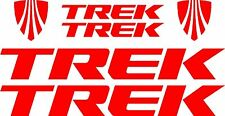 Trek Bicycle Decal Set New Design MTB/Road (Gloss Red)