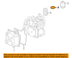 VW VOLKSWAGEN OEM 05-18 Jetta Transaxle Parts-Filter Housing Seal N91084501