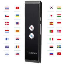 Traducteur Vocal Instantanée Intelligent en Temps Réel 30 Langues MultiLangues