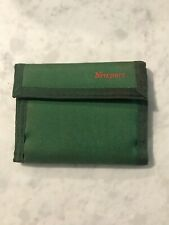 Vintage Used Newport Wallet Green Bi-Fold. Some Stains