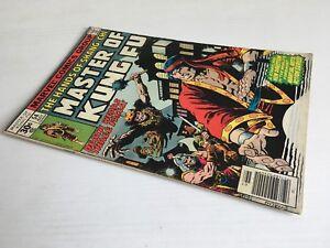 MASTER OF KUNG-FU N. 54 MARVEL COMICS 1977 ORIGINAL LANGUAGE GRADE 5.5