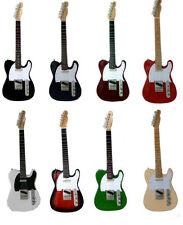 Telecasters: Multiple Colours - Miniature Guitar Replica Set (UK Seller)