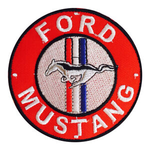 Ford Mustang MotorCar Brand Logo Patch Iron On Patch Sew On Embroidered Patch