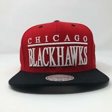 Chicago Blackhawks Mitchell And Ness Snapback Hat A4