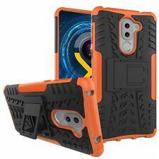 Hybrid Case 2teilig Outdoor Orange für Huawei Honor 6X Tasche Hülle Cover Neu
