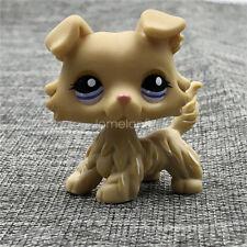 Littlest Pet Shop Light Cream Yellow Dogs LPS #1194 Action Rare Figure Kids Toys
