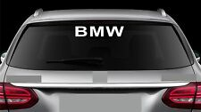 Rear Window sticker fits Bmw M Series Decal Emblem Car Logo RW9