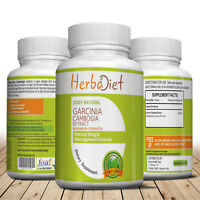 Garcinia Cambogia HCA Weight Loss Diet Vegan 120 Capsules Fat Burner Upto 3000mg