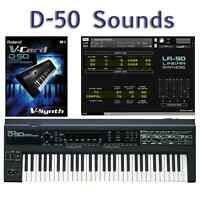 Most Sounds: Roland D-50, D-550, Boutique D-05, VC-1