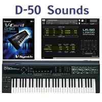 Most Sounds: Roland D-50, D-550, D-05, VC-1