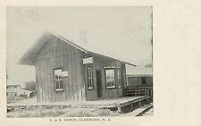 Lehigh & New England Railroad Glenwood NJ station 8½x11 PC repro