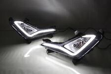 For Hyundai Elantra 2014-2015 Car Pair DRL Daytime Running Driving Light Lamp