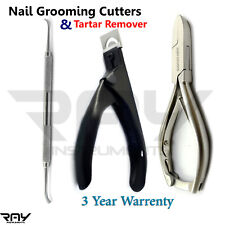 Podiatrist Nail Clipper Cutters Manicure Thick Nail Heavy Duty & Tartar Remover