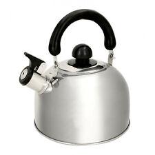 Alpina Wasserkessel Wasser Kocher Edelstahl Teekocher Pfeiffkessel Flötenkessel