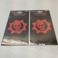 Gears Of War 5 Crimson Omen Decal SandyLion Value Bonus 2 Pack 2 Decals 3-1/2""