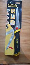 STANLEY FatMax Folding Lock Blade Drywall Plasterboard/Wood Hand Jab Saw, 020559