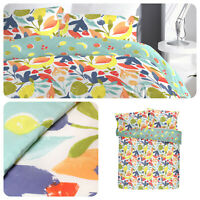 Fusion FUN FRUITS Multicolour Easy Care Duvet Cover Set