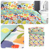 Fusion FUN FRUITS Duvet Cover Set Reversible Bedding Easy Care Multicolour Quilt
