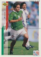 N°028 LUIS GARCIA MEXICO TRADING CARDS UPPER DECK WORLD CUP USA 1994