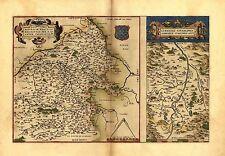 France Bourges Vierzon dans toutes Loire L'Allier massif central carte antique