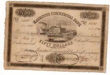 Mauritius MAURICE Geldschein 50 Dollar = 10 £ 1840 PS.126