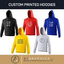 Personalised Custom Printed Hoodie Unisex Event Hen Stag Company Logo