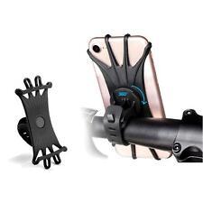Bike Phone Holder Mount Mountain Road Handlebar Bracket Silicone Universal