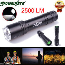 Sky Wolf Eye 2500 LM Powerful Zoomable CREE Q5 LED  3-Mode Cycling Flashlight
