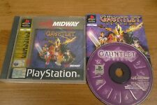 SONY PLAYSTATION PS1 GAME GAUNTLET LEGENDS